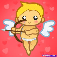 how to draw cupid for kids step by step valentines seasonal
