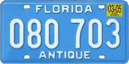 Florida Vanity Plate Cost Registration Choices In Florida