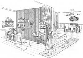 dessin chambre en perspective pleasant idea comment dessiner une chambre dessin 3d avec beautiful
