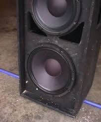 empty 15 inch speaker cabinets shavano music online a speaker cabinet project in words and pictures