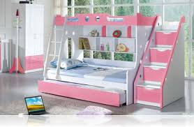 Kids Loft Beds With Desk And Stairs by Bedroom Inspiring Bunk Beds For Kids With Stairs Ideas