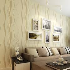 3d striped wallpapers non woven grey stripe wall paper for the