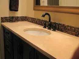 Tile Bathroom Countertop Ideas by Colorful Bathroom Vanity Bathroom Countertops With Tile