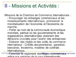 chambre commerce internationale la chambre de commerce internationale ppt télécharger