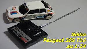 peugeot au nikko peugeot 205 turbo 16 au 1 24 test vitesse youtube