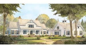 Coastal Living House Plans Cedar River Farmhouse Southern Living House Plans