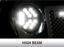 jeep lights on top luminix high power led headlights by putco