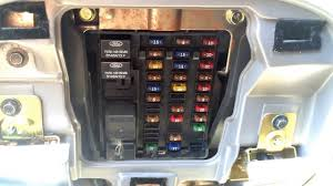 ford f 150 1997 2003 fuse box location youtube