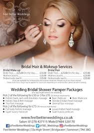 bridal hair prices weddings at feel better days feel better days nails beauty