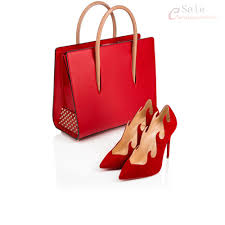 stylish womens rougissime christian louboutin paloma medium tote
