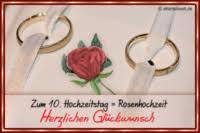 10 hochzeitstag rosenhochzeit besondere hochzeitstage