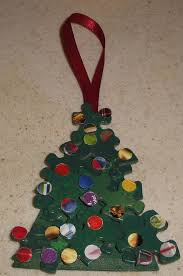 how to create a and easy tree ornament from recycled