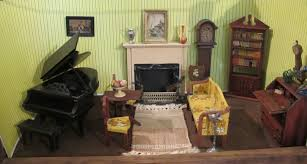 German Living Room Furniture Susan S Mini Homes Contents Of A 1930s Dollhouse