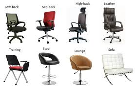 names of furniture modern office chair name furniture inside names of chairs plan