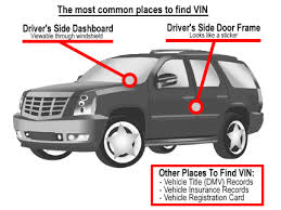 where to find vin number 2018 2019 car release and reviews