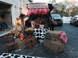 Halloween Car Decoration Ideas Trunk And Treat Western Theme Decoration Truck N Treat