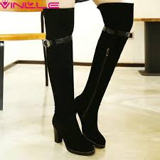 womens designer boots size 12 get cheap knee high boots size 12 aliexpress com