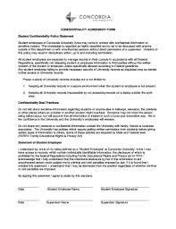 employee confidentiality agreement policy edit online fill