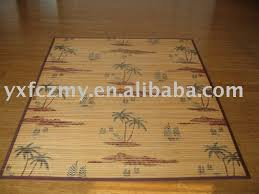 Bamboo Rugs Painted Bamboo Rugs Techieblogie Info