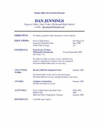 Accounting Student Resume 15 Year Old Student Resume Virtren Com