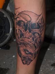 skull by zombthc on deviantart