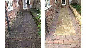 How To Clean Paver Patio by Carpet Cleaning Services In Glasgow Driveway U0026 Patio Cleaning