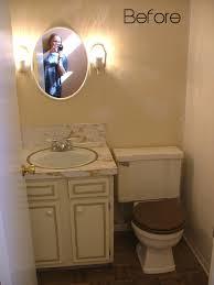 Half Bathroom Remodel by My Half Bathroom Remodel Reveal Design Vox