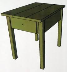 Free Wood End Table Plans by These Free End Table Plans Include How To Build A Kreg Drawer
