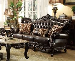 Tufted Brown Leather Sofa Tufted Leather Sofas Furniture Shop Factory Direct