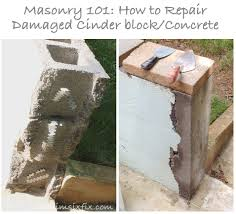 How To Fix Cracks In Concrete Patio by Masonry 101 How To Repair A Concrete Cinder Block Wall The