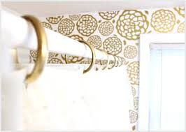 curtain rings gold images Gold shower curtain hooks wabisue jpg