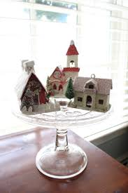 decorating with vintage christmas houses vintage american home christmas antique houses putz