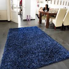 Blue Shaggy Rug Lounge Collection Beat Shaggy Rugs 10 Midnight Blue Free Uk