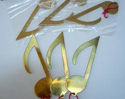 musical ornament etsy