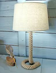 Rope Table L Table Ls Ships Lantern Table L Vintage Mid Century Anchor