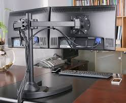 Desk Mount Dual Monitor Stand 24 Best Computer Monitor Mount Images On Pinterest Monitor