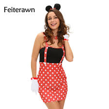 minnie and mickey mouse halloween costumes for adults online get cheap womens minnie mouse halloween costume aliexpress