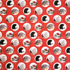 cat christmas wrapping paper pets at home cat themed christmas wrapping paper 2 pack by pets at