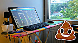 gaming setup creator worst gaming setups on youtube bad youtuber gaming setups episode