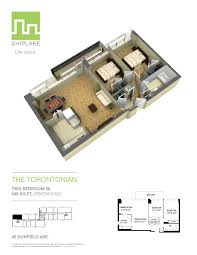 Floorplan Of A House Ever Wondered What A Suite Looks Like At The Torontonian
