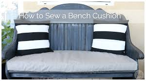 How To Make A Window Bench Seat Cushion How To Sew A Bench Cushion In 2 Hours Youtube