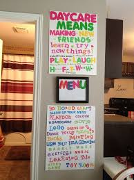 Home Daycare Ideas For Decorating 25 Best Day Care Decor Ideas On Pinterest Happy Mothers Day