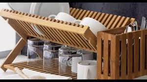 Dish Rack And Drainboard Set Dry Dishes Racks Up High Youtube