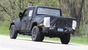 jeep truck spy photos jeep wrangler ute 2018 spy shots car news carsguide