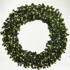 best large pre lit wreaths for the holidays