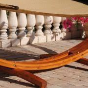 caribbean cypress arc hammock stand hammock u0026 pillow package