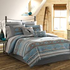 Walmart Comforters Sets True Timber Southwest Bedding Comforter Set Teal Walmart Com