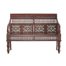 home decorators collectors home decorators collection maharaja walnut side chair 0652000960