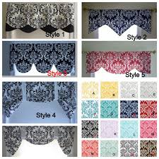 Black Window Valance Black And White Window Valance Lined Window Valance Black And