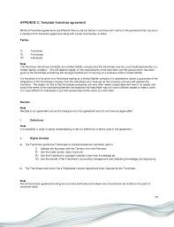 franchise agreement template 35 perfect termination letter